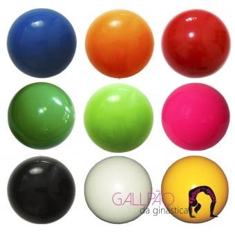 Bola de Ginástica Rítmica 400g - Cores Lisas