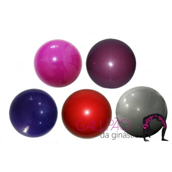 Bola de Ginástica Rítmica 400g - Cores Metalizadas