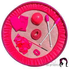 Kit Ginástica Rítmica Especial Pink