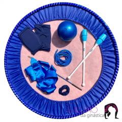 Kit Ginástica Rítmica Especial Azul